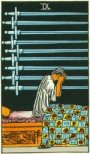 Waite Tarot Nine Swords