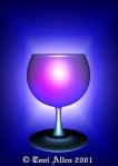 Toni Allen Tarot Ace of Cups