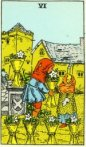 6 of Cups Waite Tarot