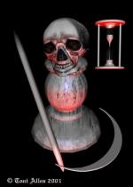 Toni Allen Tarot Death 13