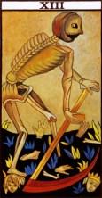 Marseille Tarot Death 13