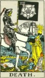 Waite Tarot Death 13