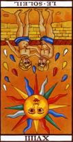 tarot sun reversed