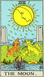 Waite Tarot Moon