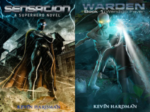 Kevin Hardman book covers