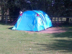 The weekend tent