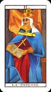Marseille Tarot The High Priestess