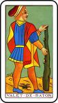 Tarot Page of Batons
