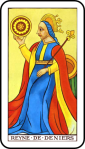 Tarot Queen of Coins