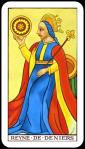 Tarot Queen of Coins