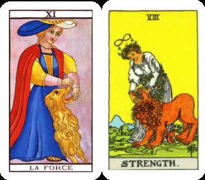 Tarot Strength card