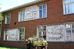 3 Bas reliefs Farnham Police Station