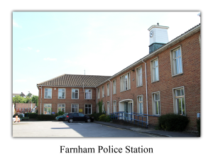 Farnham Police Station