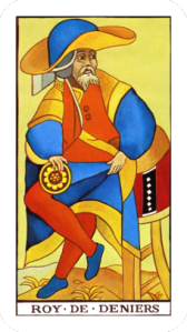 Tarot King of Coins