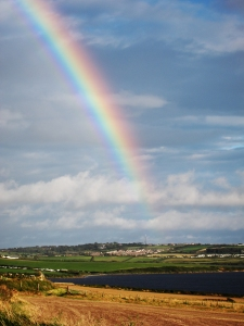 Rainbow over the Fleet - Dorset