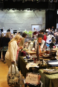 Maltings Great Hall flea market