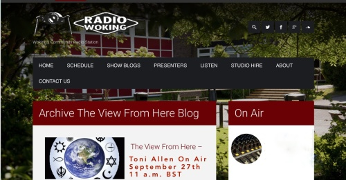 Toni Allen Radio Woking