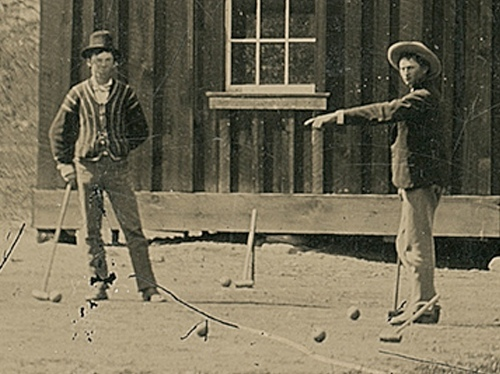 Billy the Kid is the one on the left