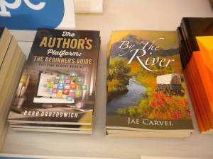 Jae Carvel at Montana Book Festival